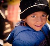 Das children's Gesicht lizenzfreie stockfotos