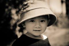 Das children's Gesicht lizenzfreie stockbilder