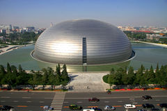 Das China-nationale Theater Lizenzfreie Stockbilder