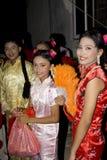 Das chinesische neue Jahr am 14. Februar 2010 Stockfoto