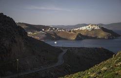 Das Chora von Astypaleae, Griechenland Stockfotos