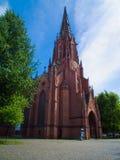Das Christuskirche in Hannover Stadtkirche im sonnigen Wetter stockbild