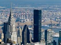 Das Chrysler-Gebäude Lizenzfreie Stockfotos