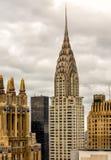 Das Chrysler-Gebäude Stockbild