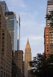 Das Chrysler-Gebäude Stockfotos