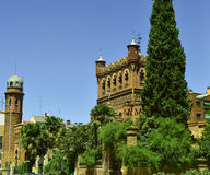 Das Cisneriano-Museum von AlcalÃ-¡ de Henares, Spanien Lizenzfreies Stockbild