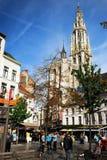 Das Cityhall von Antwerpen lizenzfreies stockbild