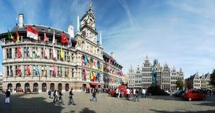 Das Cityhall von Antwerpen Lizenzfreies Stockfoto