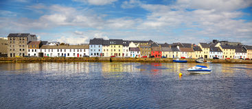 Das Claddagh Galway Stockfotos