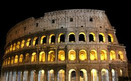 Das Colosseum in Rom Lizenzfreie Stockfotos