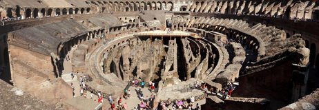 Das Colosseum in Rom Stockbilder