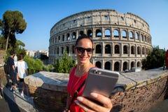 Das Colosseum in Rom Italien Stockbilder