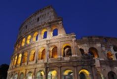 Das Colosseum wird auch als Flavian Amphitheater genannt Stockbilder