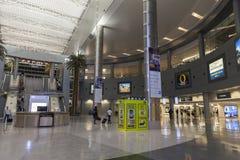 Das D versieht Bereich von McCarran-Flughafen in Las Vegas, Nanovolt am 1. Juli mit einem Gatter lizenzfreie stockfotos