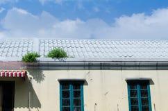 Das Dach Stockbild