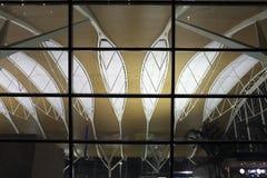 Das Dach des Flughafens Shanghais Pudong Lizenzfreie Stockfotos