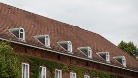 Das Dach des Hauses Stockfoto
