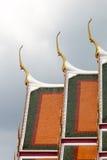 Das Dach des Tempels Lizenzfreie Stockfotos