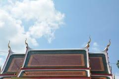 Das Dach des Tempels Lizenzfreies Stockbild