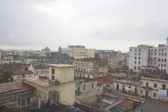 Das Dach von Ambos Mundos-Hotel Stockfotografie