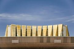 Das Dach von Odessa Theater der musikalischen Komödie lizenzfreie stockfotografie
