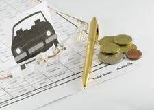 Das Darlehen stockbilder