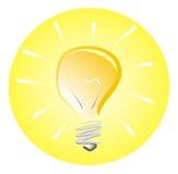 Das Denken erhalten Idee lizenzfreie abbildung