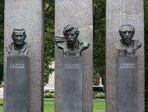 Das Denkmal der Republik statue Royalty Free Stock Photography