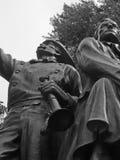 Das Denkmal des Feuerwehrmannes Stockbild