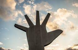 Das Denkmal von Latein-Amerika ist eine kulturelle Mitte, politisch und die Freizeit, herein am 18. März geöffnet, stockbilder