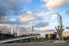 Das Denkmal von Latein-Amerika ist eine kulturelle Mitte, politisch und die Freizeit, herein am 18. März geöffnet, lizenzfreie stockbilder
