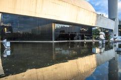 Das Denkmal von Latein-Amerika ist eine kulturelle Mitte, politisch und die Freizeit, herein am 18. März geöffnet, lizenzfreies stockbild