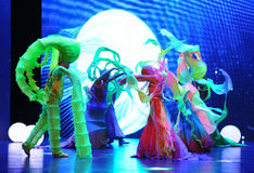 Das des Meer-Dragon Kings Palast-große Skalaszenario show† das Straße legend† Lizenzfreie Stockfotos