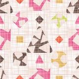 Das Design des Tracery mit geometrischen Formen Stockfoto