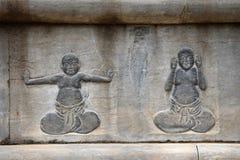 Das Detail des Steins schnitzend an Shaolin-Kloster in Henan-Provinz in China lizenzfreie stockfotografie