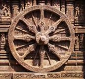 Das Dharma Chakra Stockfotografie