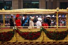 Das Diamant-Jubiläum der Königin Stockbild