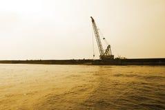 Das Dock stockbilder
