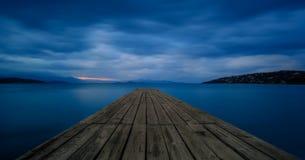 Das Dock Stockfotos