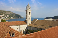 Das dominikanische Kloster in Dubrovnik Lizenzfreie Stockbilder