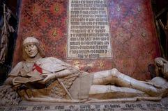 Das Doncel von Siguenza-Kathedrale Lizenzfreie Stockfotos