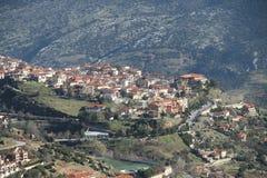 Das Dorf Lizenzfreies Stockbild