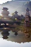 Das Dorf des Guizhous Stockfotografie