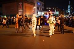 Das Dorf-Halloween-Parade-Teil 2015 3 65 Lizenzfreie Stockbilder