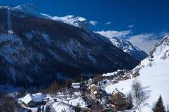Das Dorf La-Grab in Frankreich Stockfotos