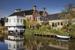 Das Dorf Onderdendam Stockfotos