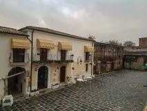 Das Dorf von Apice Vecchio in der Provinz von Benevento lizenzfreies stockbild