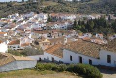 Das Dorf von Aracena Stockfotografie