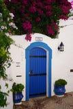 das Dorf von Burgau bei der Algarve von Portugal in Europa Portugal, Algarve im Sommer stockfoto