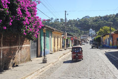 Das Dorf von Conception de Ataco auf El Salvador Lizenzfreie Stockfotos